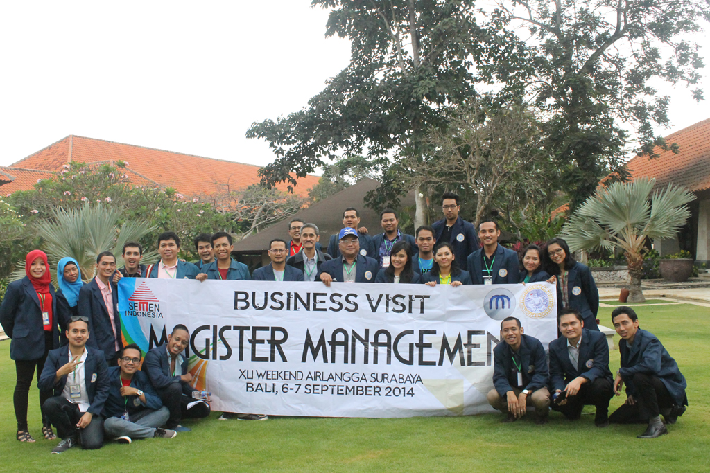 Rombongan Business Visit XLI MM UNAIR