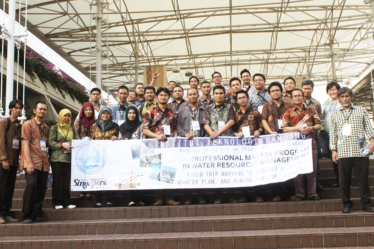 Foto Bersama di Nanyang Technology University